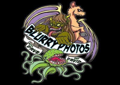 blurry phtoos logo