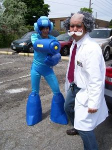 Mega Man Cosplay
