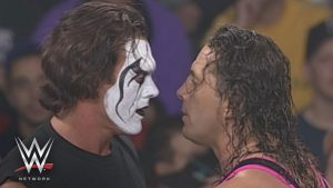 Sting and Brett Hart