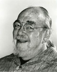 Gary Gygax BnW